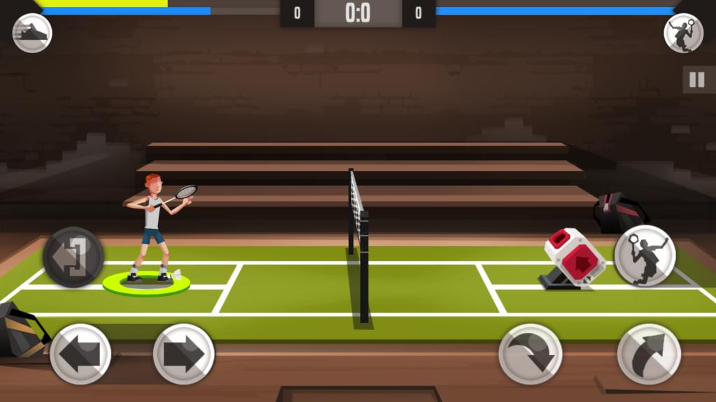 Badminton League rozgrywka