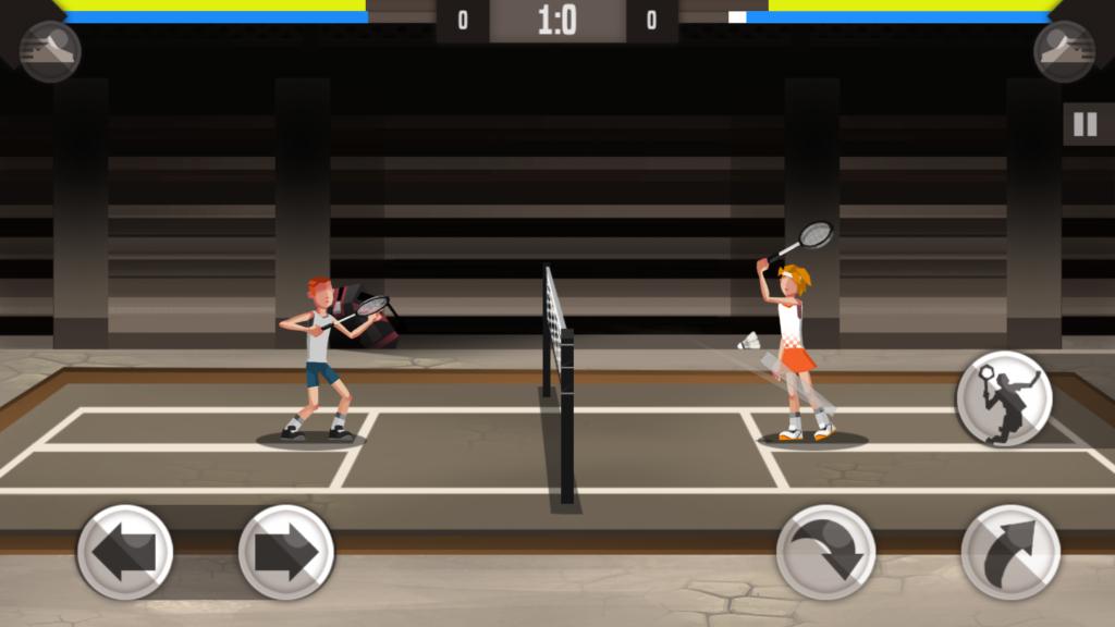 Badminton League mecz