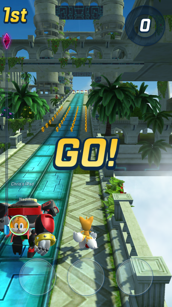 Sonic Forces start wyścigu