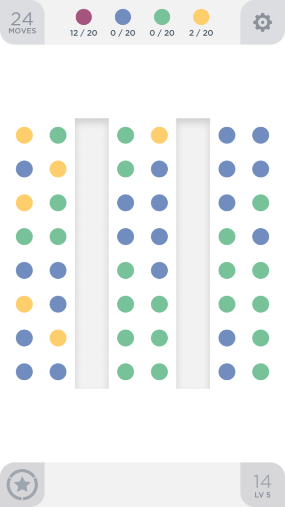 Two Dots rozgrywka