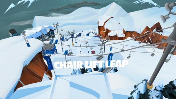 Red Bull Free Skiing pogląd trasy