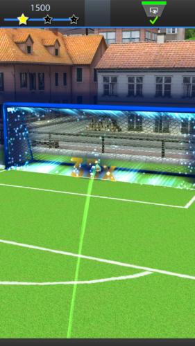 David Villa Pro Soccer bramka