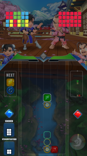 Puzzle Fighter rozgrywka