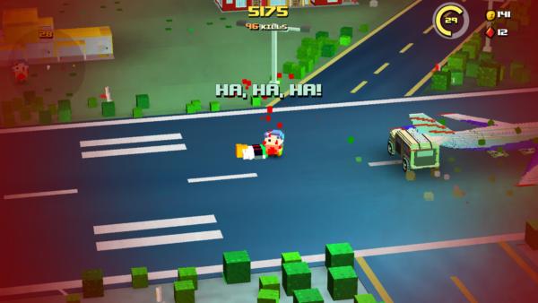 Zombie Bloxx wybuch na koniec gry