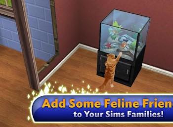 Simsy na urządzenia mobilne to całkowicie nowa gra.