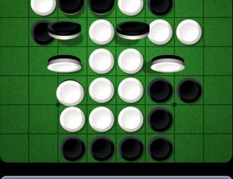 Klasyczna gra strategiczna Reversi