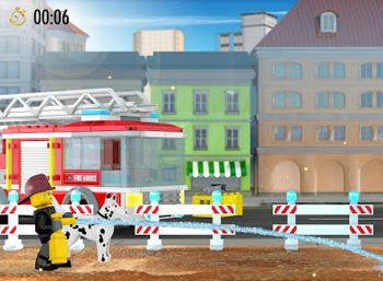 Zostań strażakiem z LEGO® City Fire Hose Frenzy!