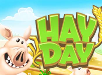 prowadź farmę w Hay Day