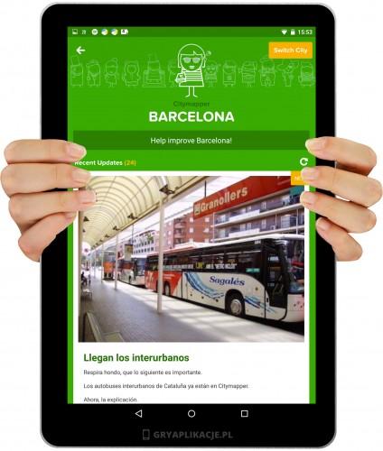 citymapper screen