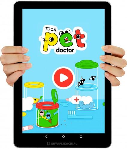 Toca Pet Doctor screen