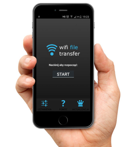 Wifi File transfer - screen