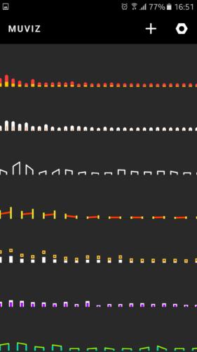Aplikacja, która pokaże Ci dźwięki - Muviz Nav Bar Audio Visualizer