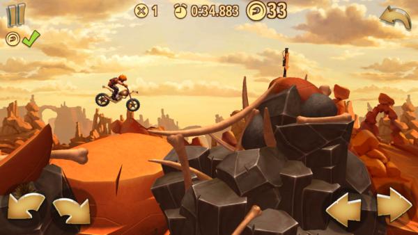 Zostań najlepszym motocyklistą pustkowi - Trials Frontier