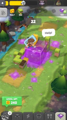 Craft Away!- Idle Mining Game ratowanie postaci