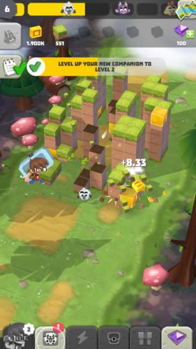 Craft Away!- Idle Mining Game rozgrywka