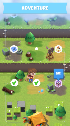 Craft Away!- Idle Mining Game mapa trybu fabularnego